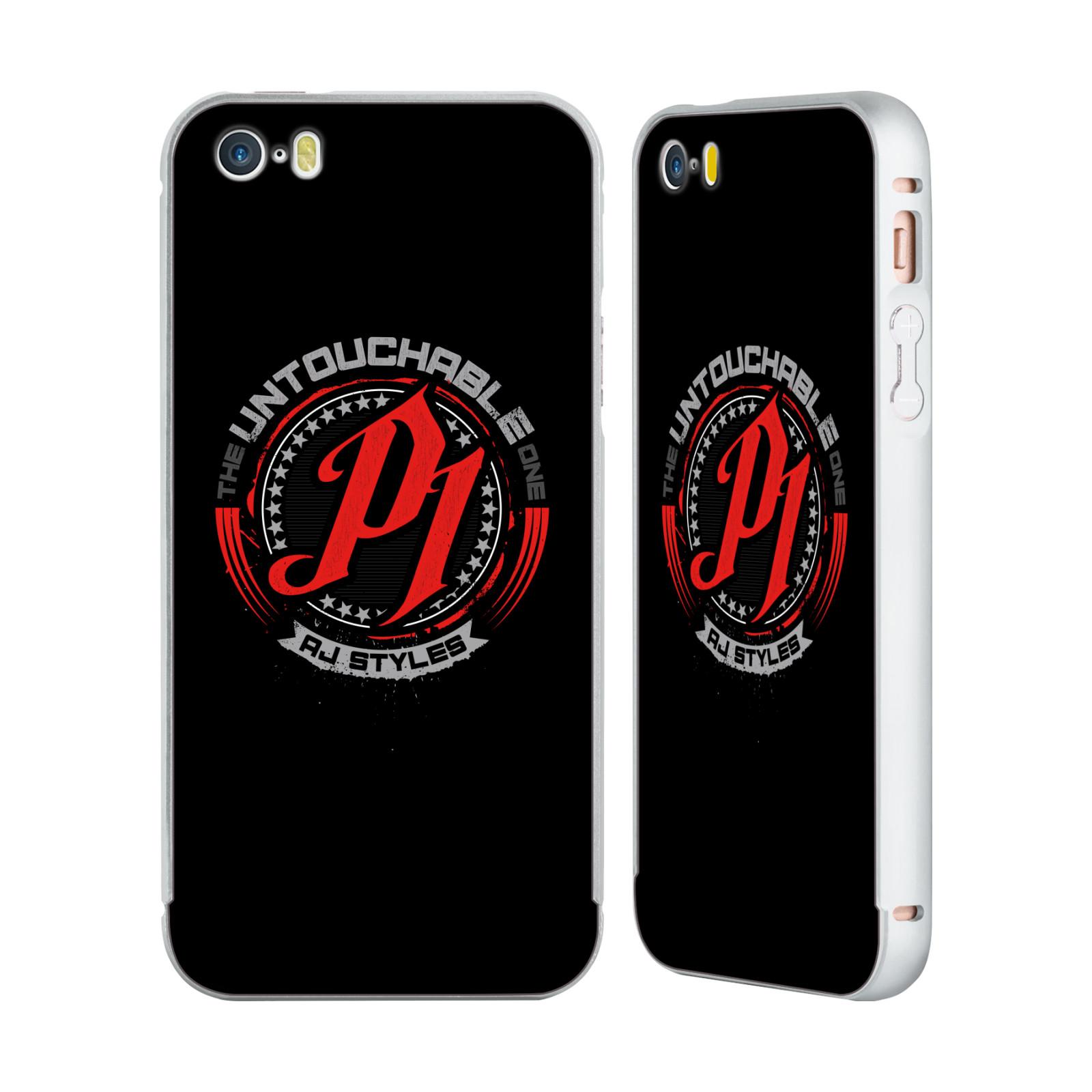 UFFICIALE-WWE-2017-AJ-STYLES-ARGENTO-COVER-CONTORNO-PER-APPLE-iPHONE-TELEFONI