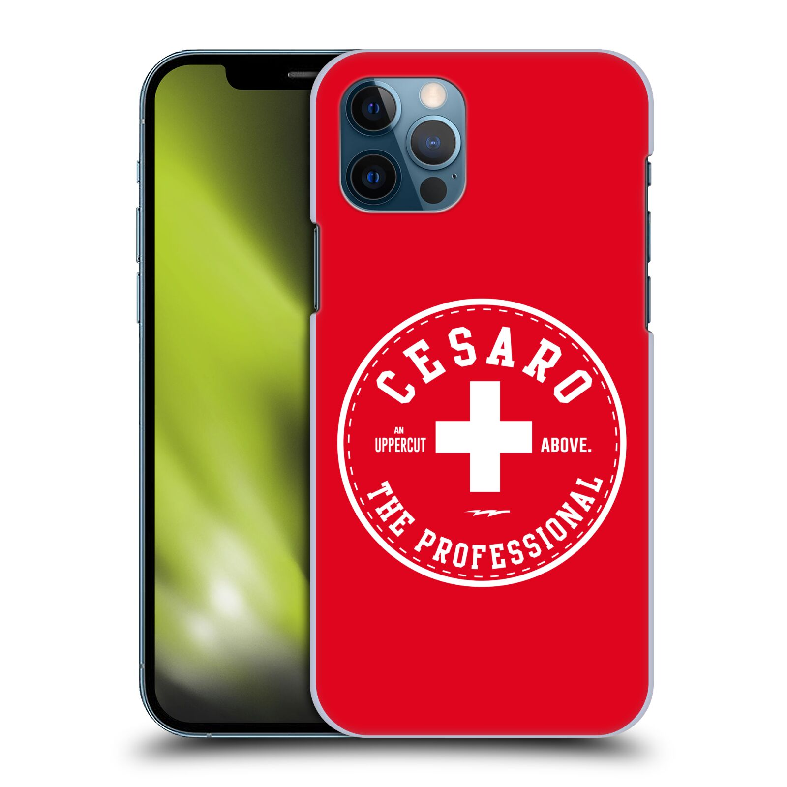 Offizielle WWE Cesaro The Professional Hülle für Apple iPhone 12 / iPhone 12 Pro