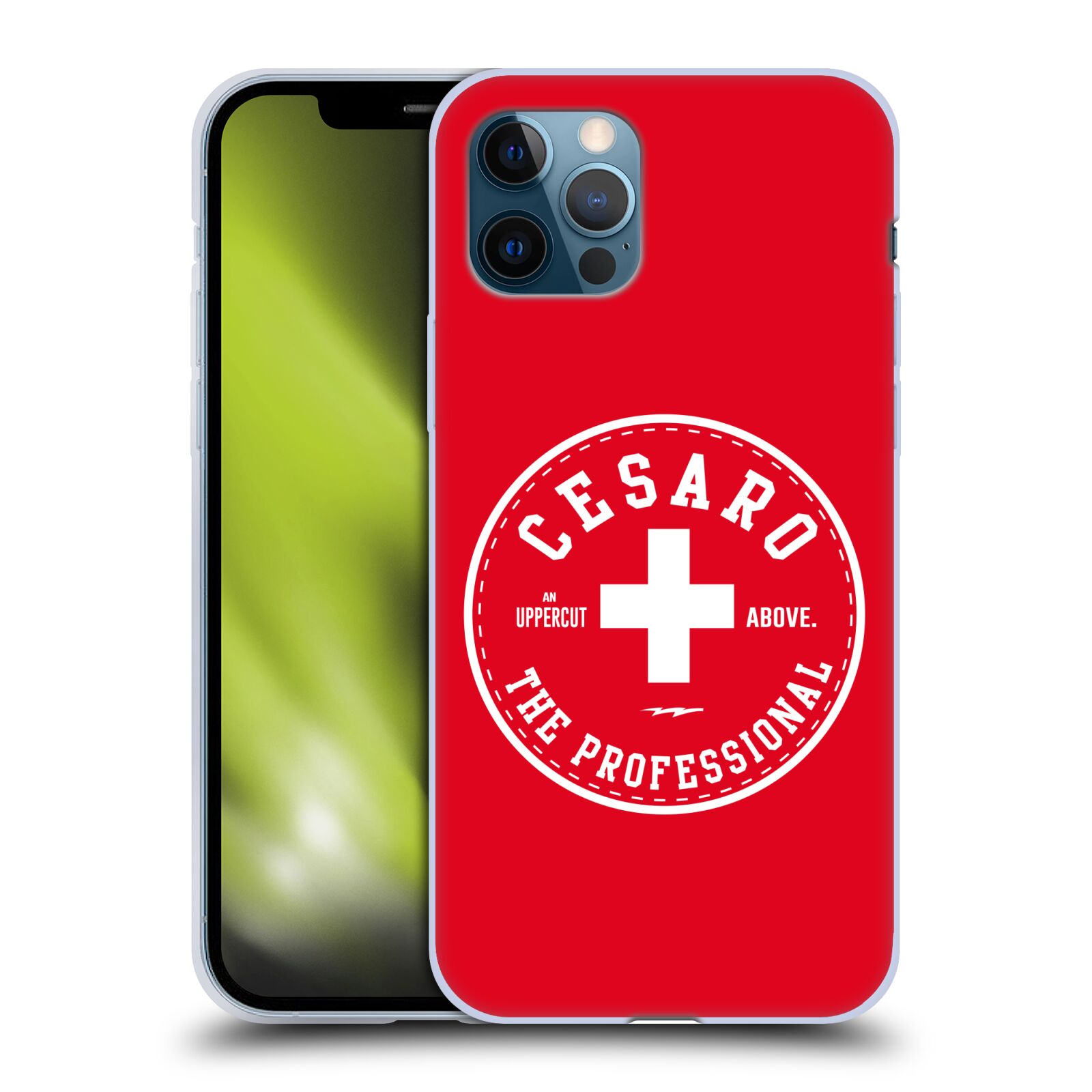 Offizielle WWE Cesaro The Professional Gel Hülle für Apple iPhone 12 / iPhone 12 Pro