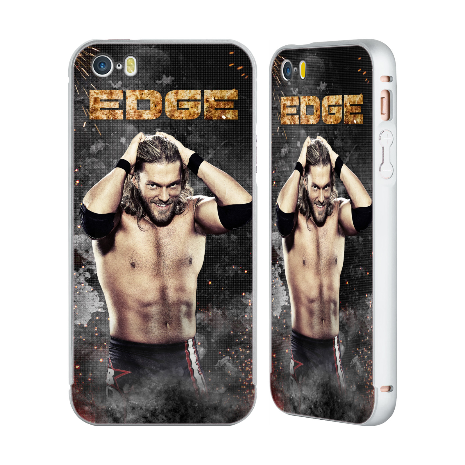 OFFICIEL-WWE-EDGE-ARGENT-ETUI-COQUE-BUMPER-SLIDER-POUR-APPLE-iPHONE-TELEPHONES