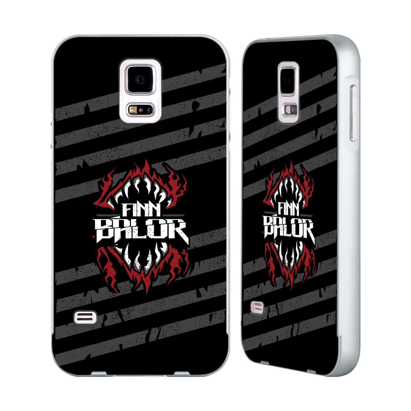 OFFICIAL-WWE-2017-FINN-BALOR-SILVER-BUMPER-SLIDER-CASE-FOR-SAMSUNG-PHONES