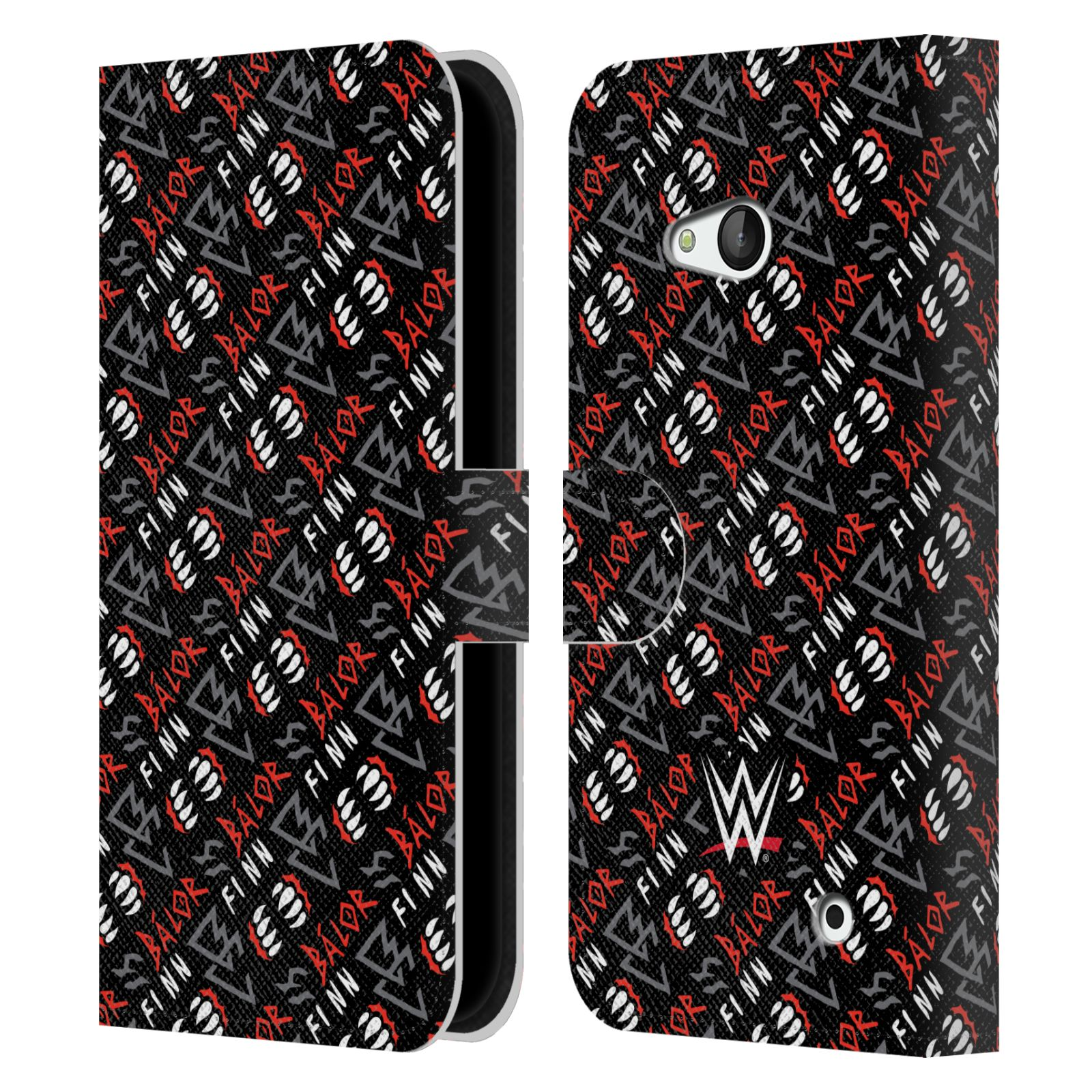 OFFICIAL-WWE-2017-FINN-BALOR-LEATHER-BOOK-WALLET-CASE-FOR-MICROSOFT-NOKIA-PHONES