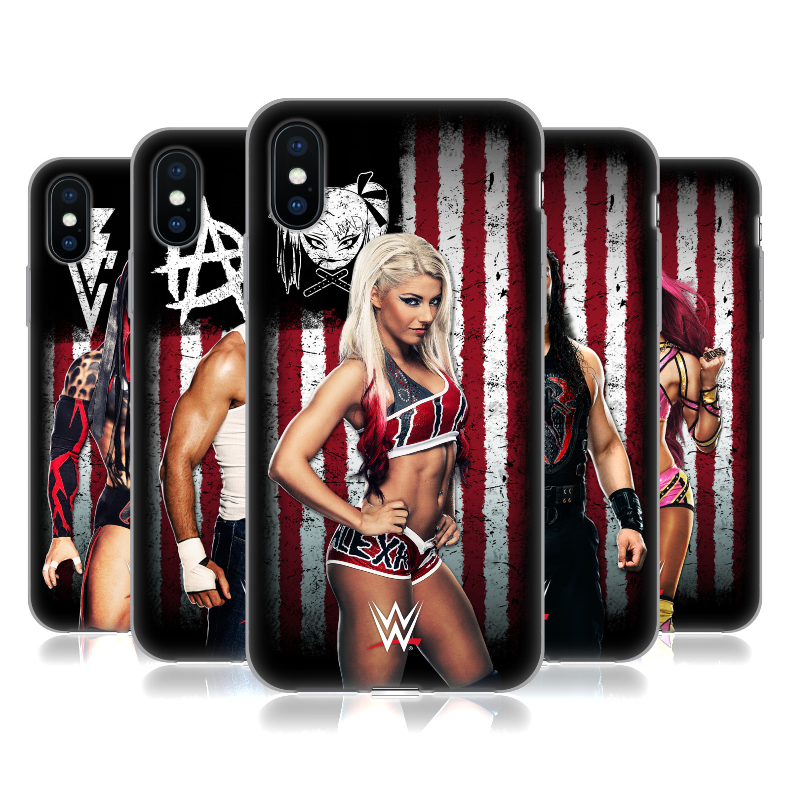 WWE American Flag Superstars