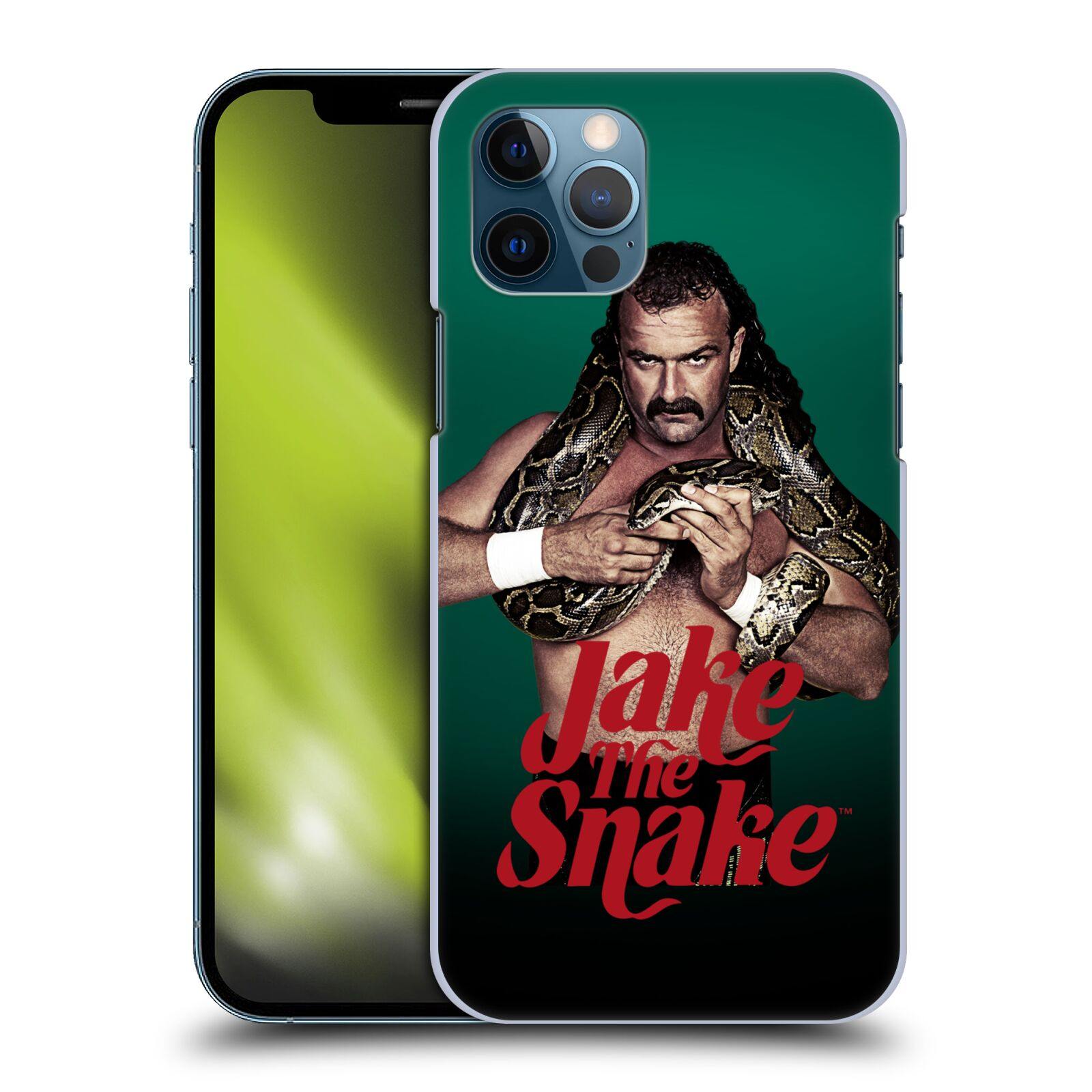 Offizielle WWE Jake The Snake Roberts Profilbild Hülle für Apple iPhone 12 / iPhone 12 Pro