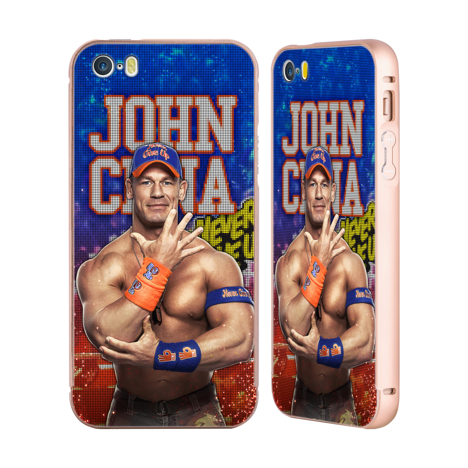 UFFICIALE-WWE-2017-JOHN-CENA-ORO-COVER-CONTORNO-PER-APPLE-iPHONE-TELEFONI