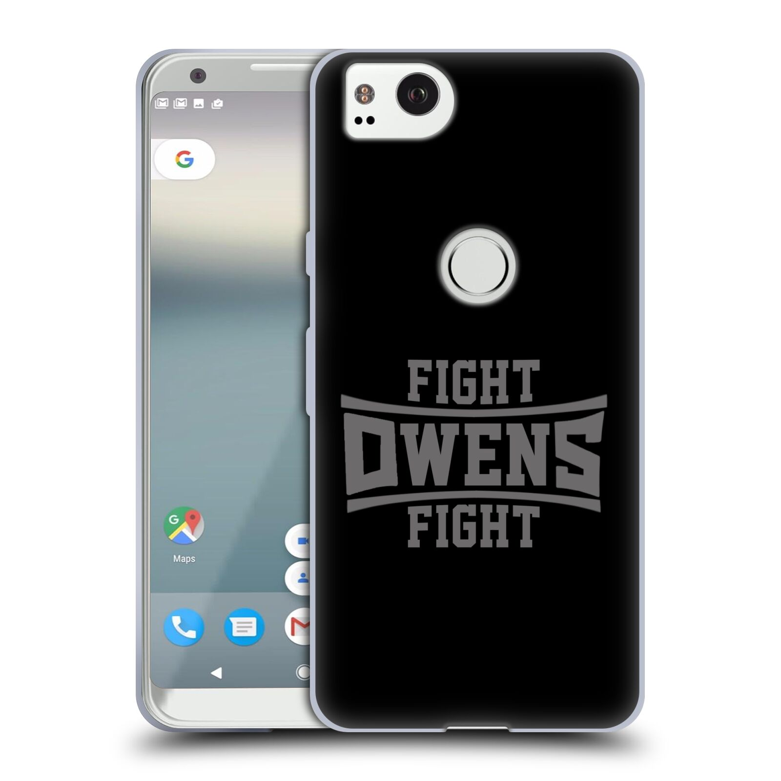 Officiel-WWE-Kevin-Owens-Soft-Gel-Case-For-Amazon-Asus-ONEPLUS