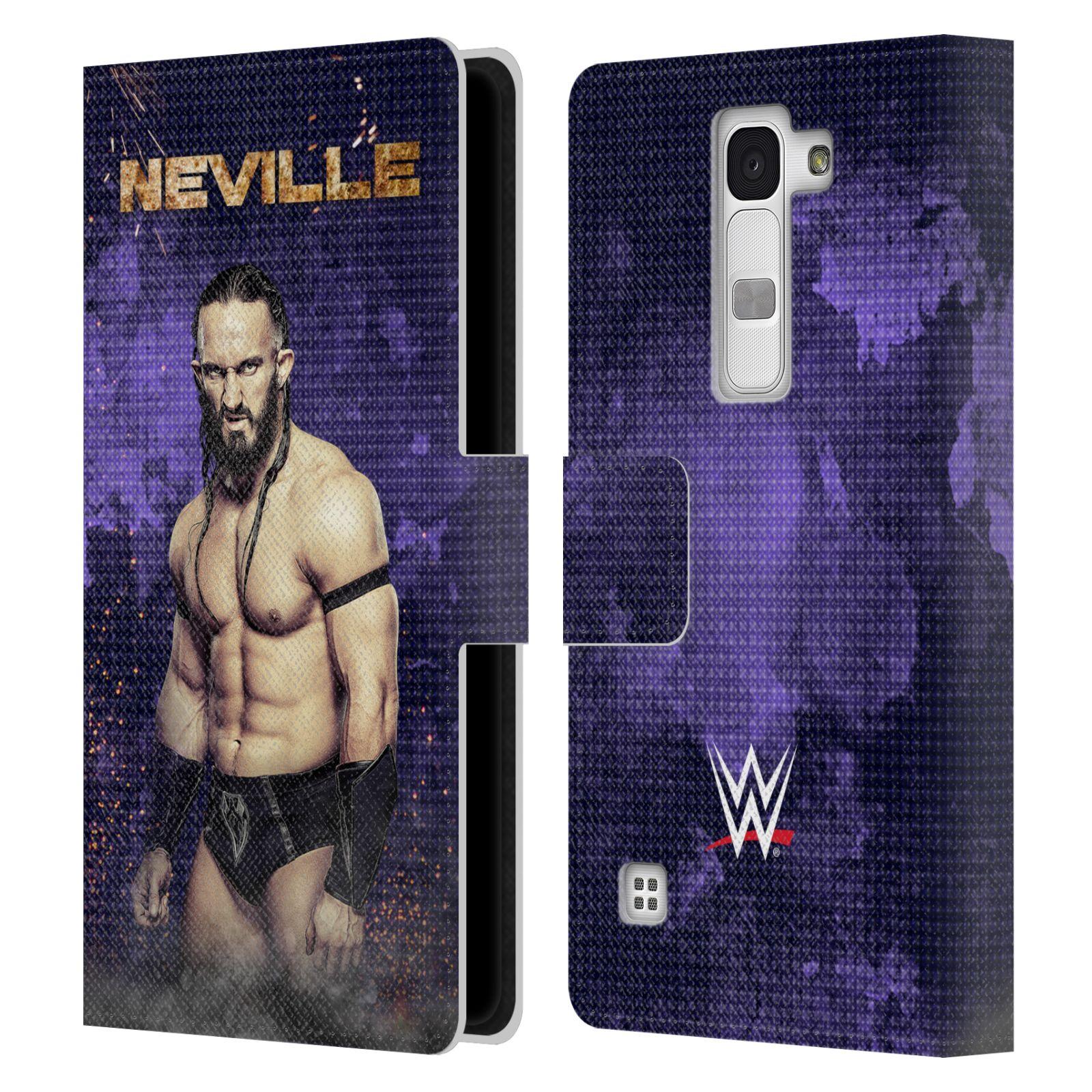 UFFICIALE-WWE-NEVILLE-COVER-A-PORTAFOGLIO-IN-PELLE-PER-LG-TELEFONI-2