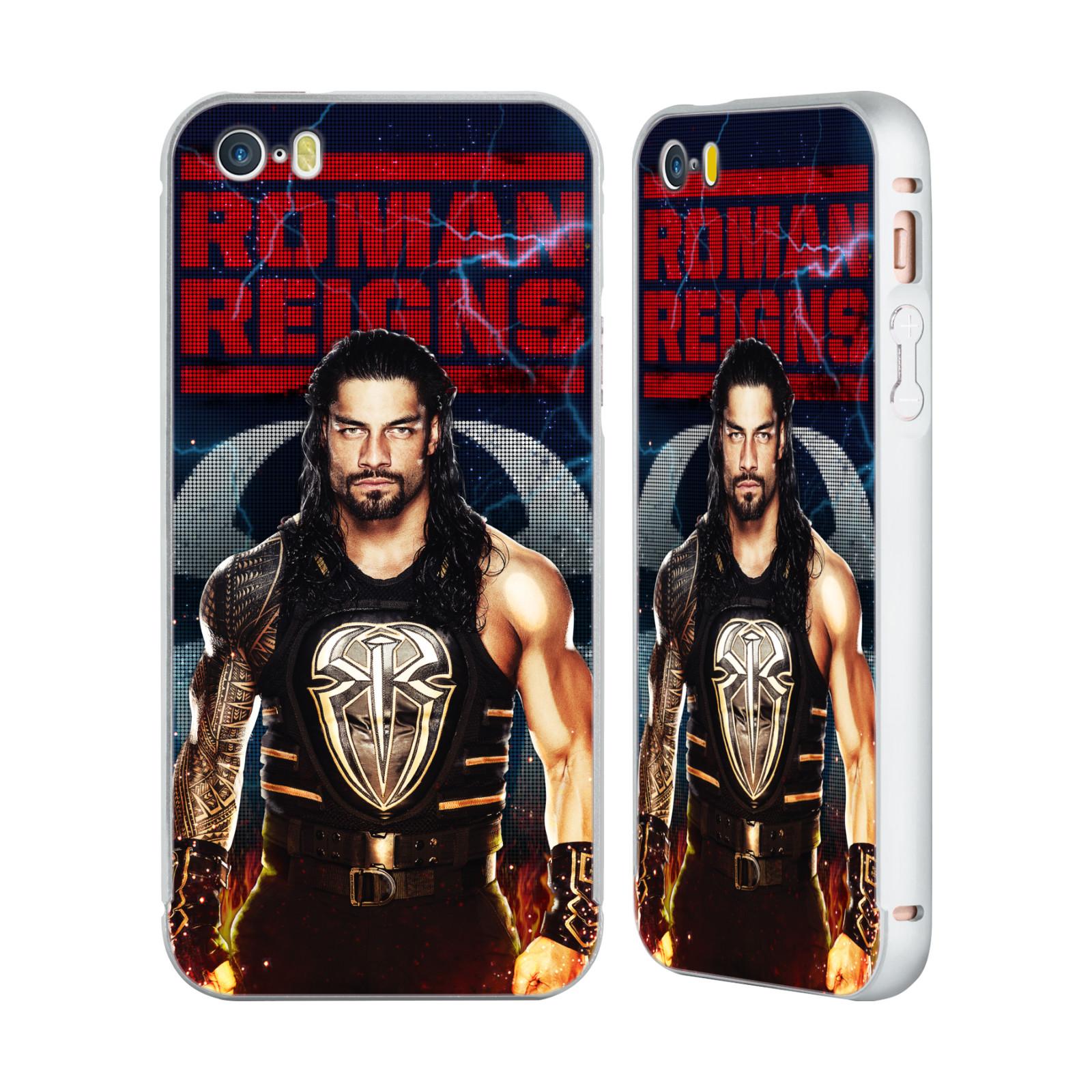 UFFICIALE-WWE-2017-REGNI-ROMANI-ARGENTO-COVER-CONTORNO-PER-APPLE-iPHONE-TELEFONI
