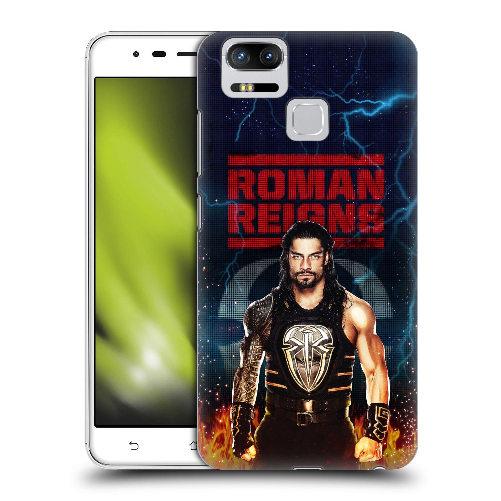 UFFICIALE-WWE-2017-REGNI-ROMANI-COVER-RETRO-RIGIDA-PER-ASUS-ZENFONE-TELEFONI