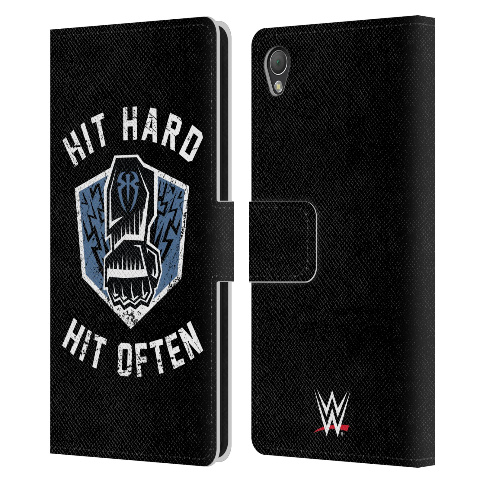 OFFICIAL-WWE-2017-ROMAN-REIGNS-LEATHER-BOOK-WALLET-CASE-COVER-FOR-SONY-PHONES-1