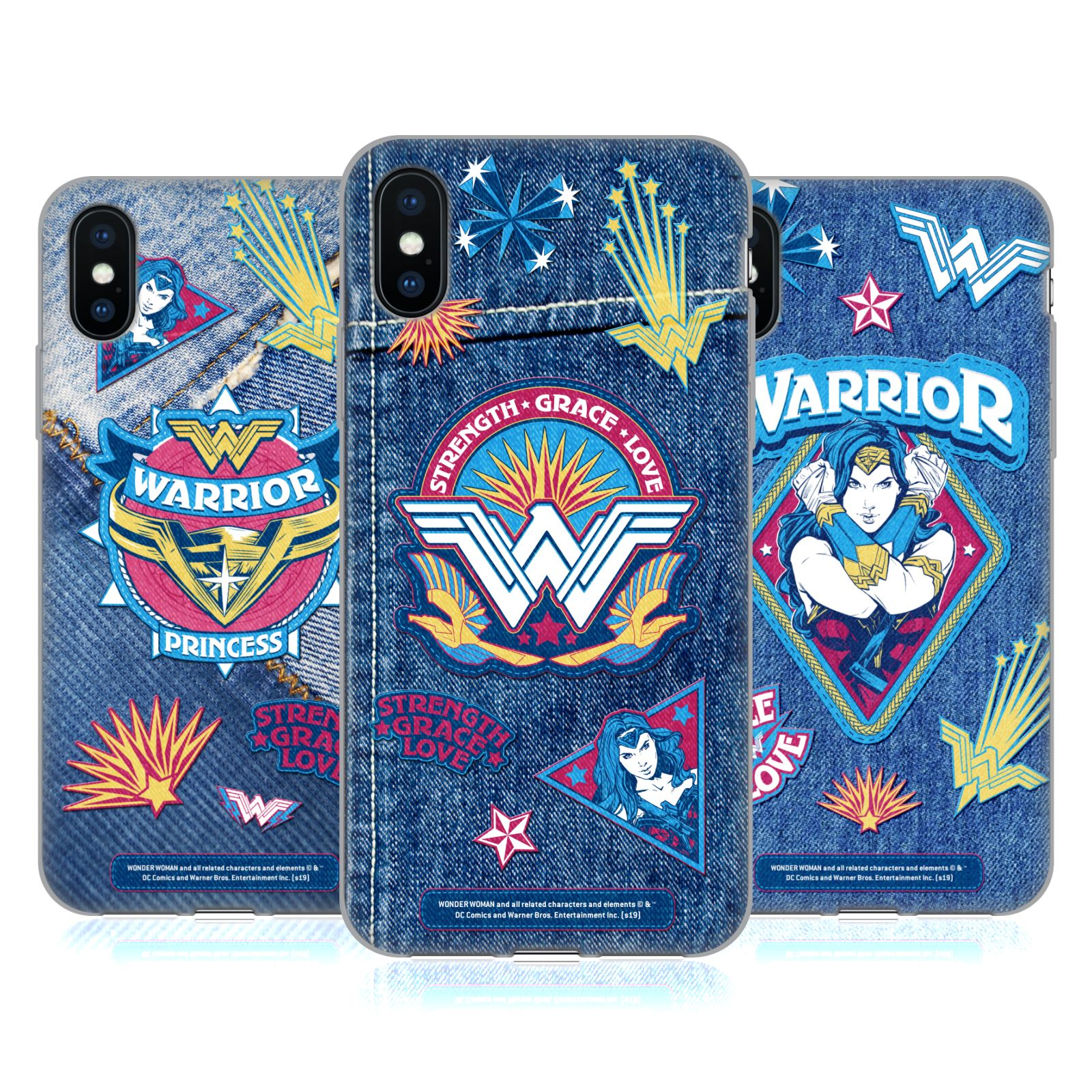 Wonder Woman Movie <!--translate-lineup-->Printed Denim Patches<!--translate-lineup-->