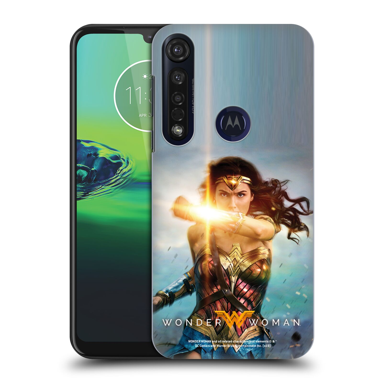 Official Wonder Woman Movie Posters Bracelets Of Submission Case for Motorola Moto G8 Plus