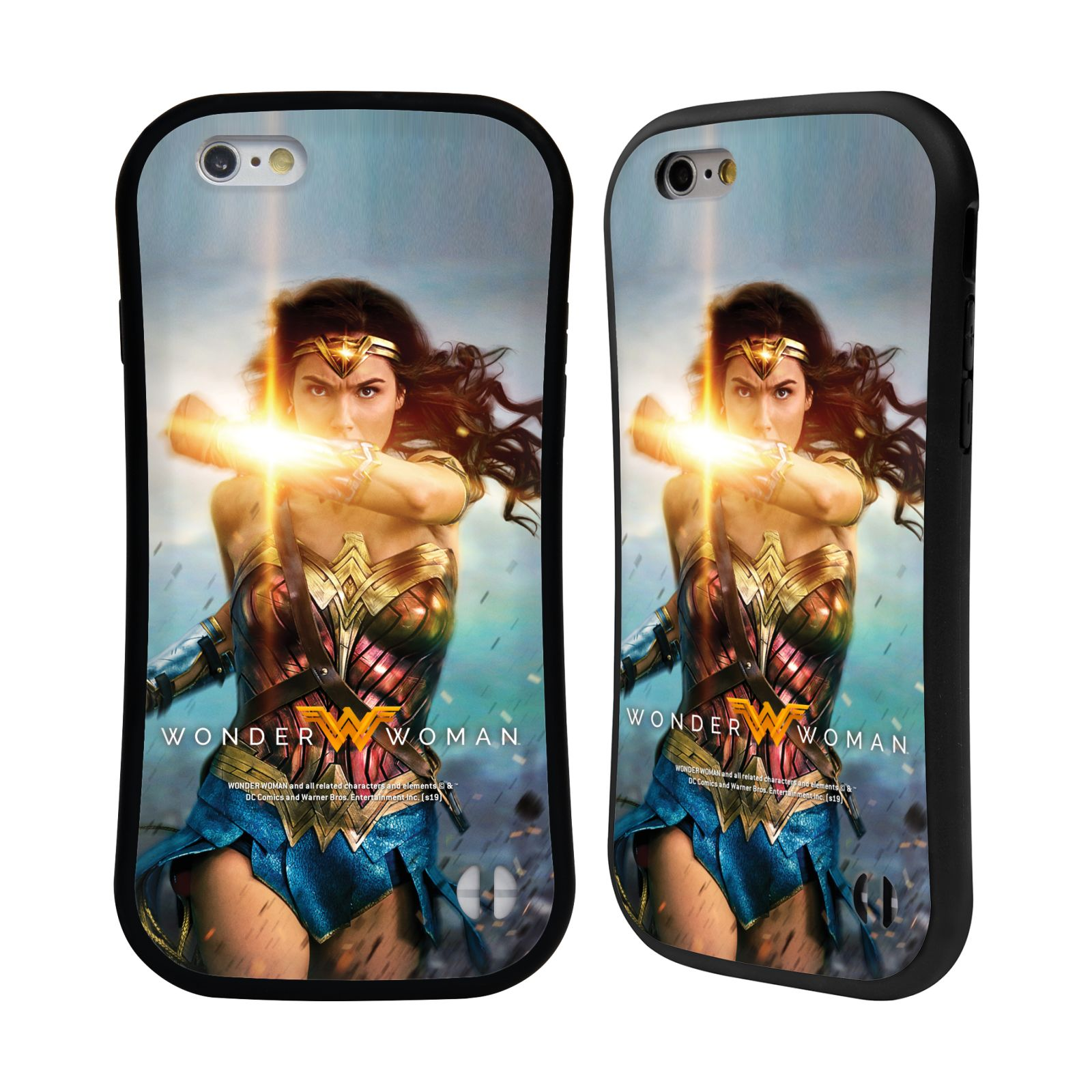 Official Wonder Woman Movie Posters Bracelets Of Submission Hybrid Case for Apple iPhone 6 / iPhone 6s