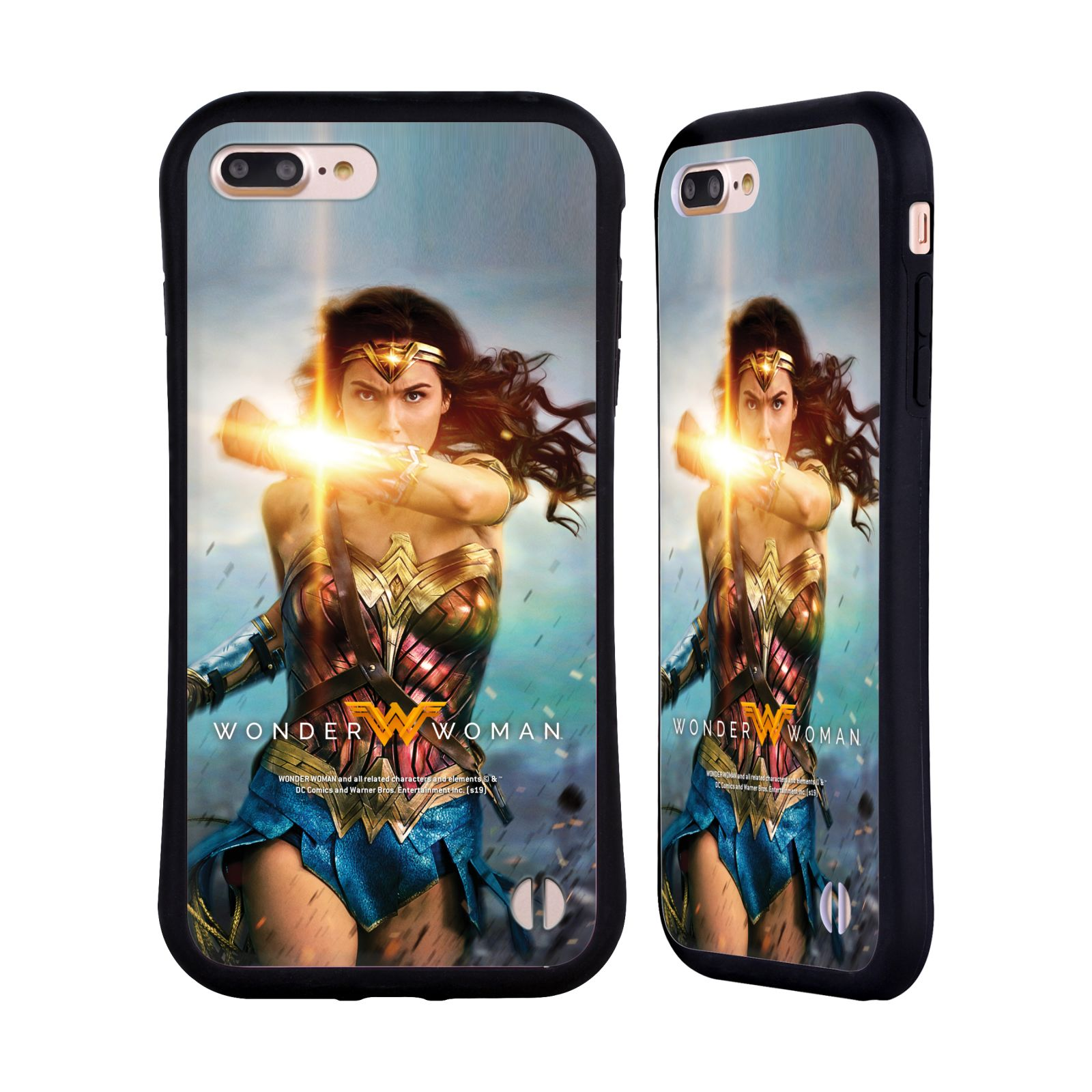 Official Wonder Woman Movie Posters Bracelets Of Submission Hybrid Case for Apple iPhone 7 Plus / iPhone 8 Plus