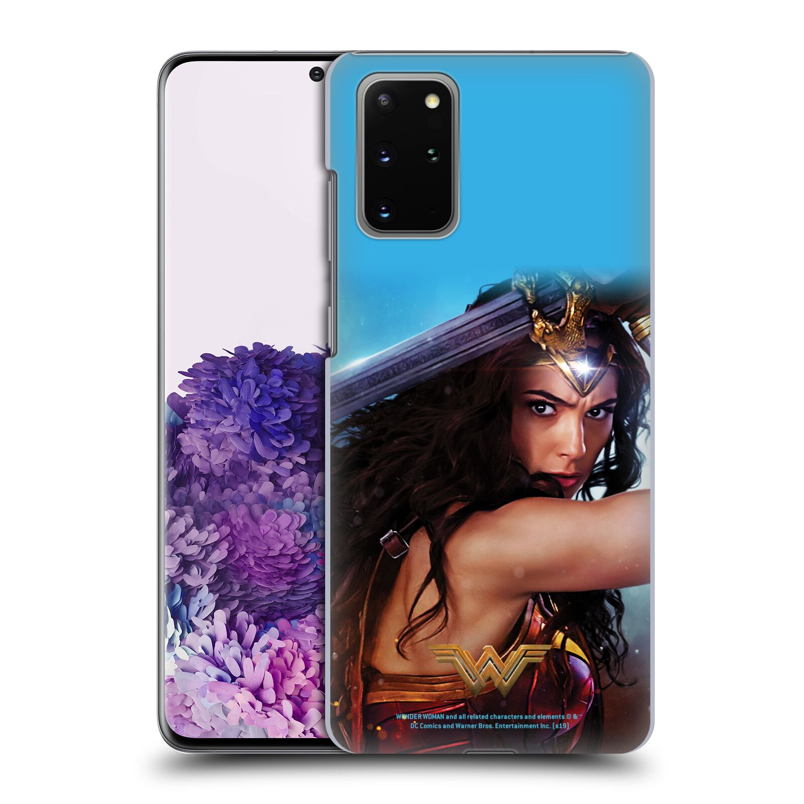 Official Wonder Woman Movie Posters Godkiller Sword 2 Case for Samsung Galaxy S20+ / S20+ 5G