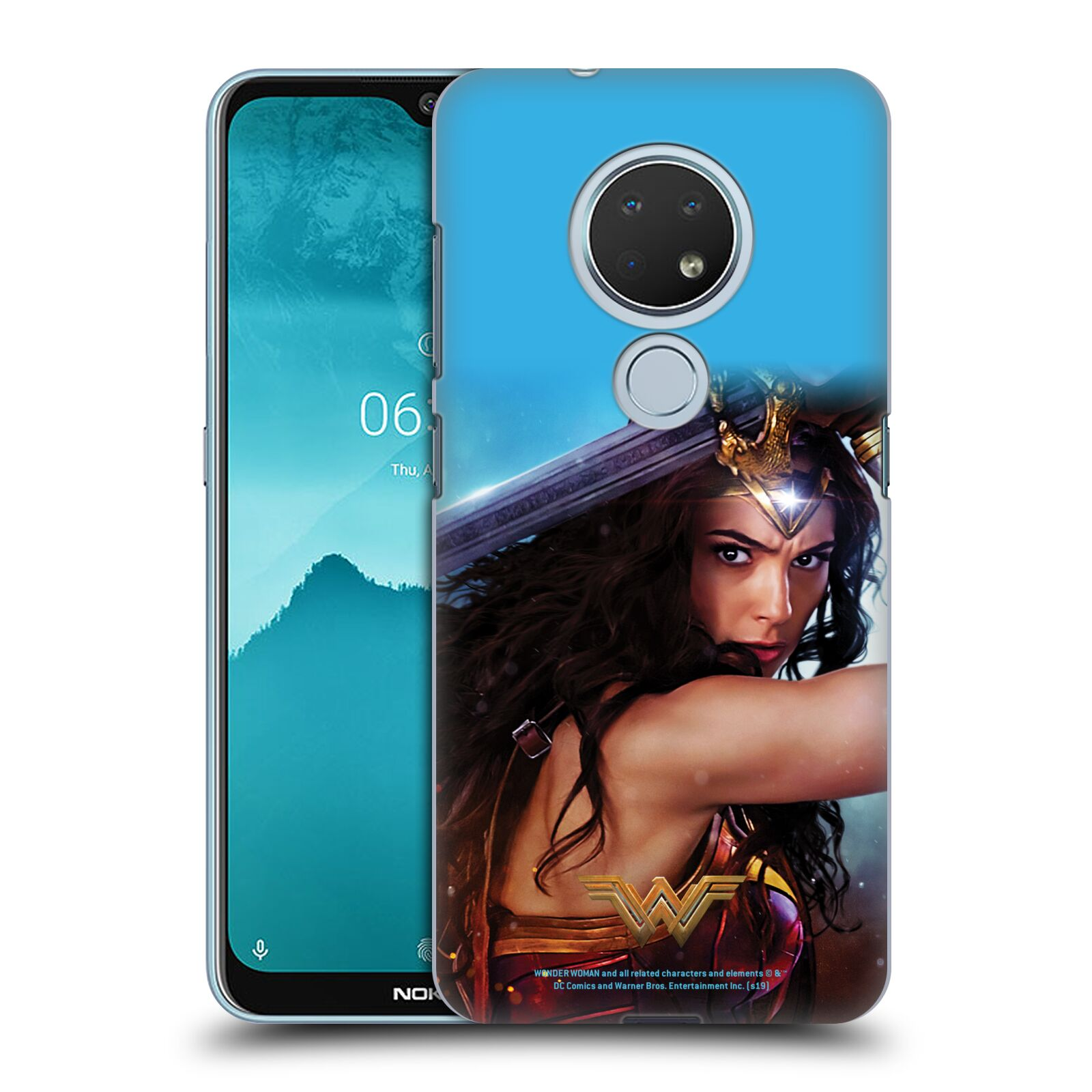 Official Wonder Woman Movie Posters Godkiller Sword 2 Case for Nokia 6.2