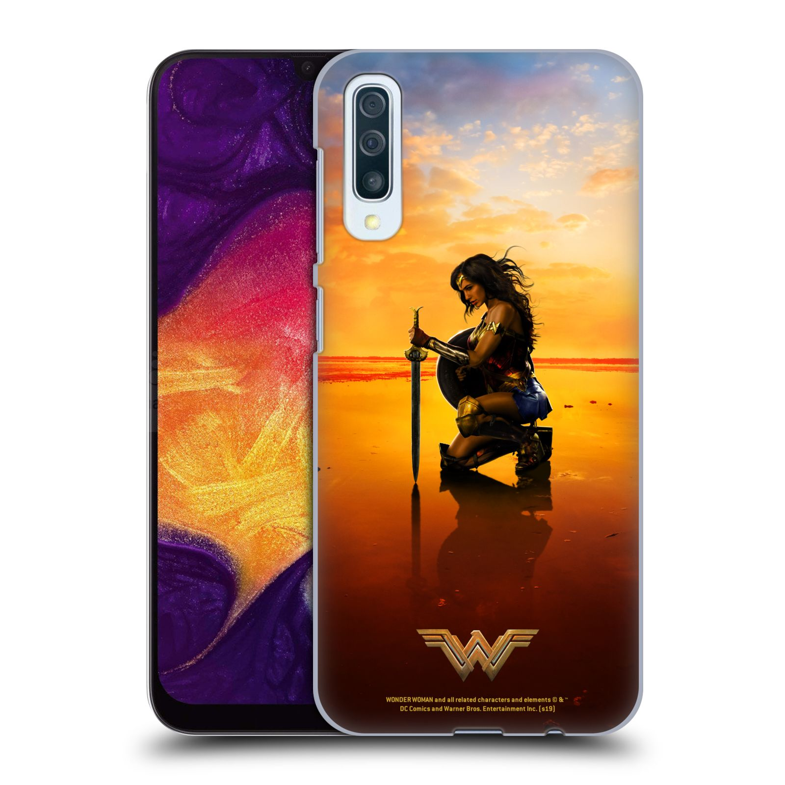Official Wonder Woman Movie Posters Sword And Shield Case for Samsung Galaxy A50/A30s (2019)
