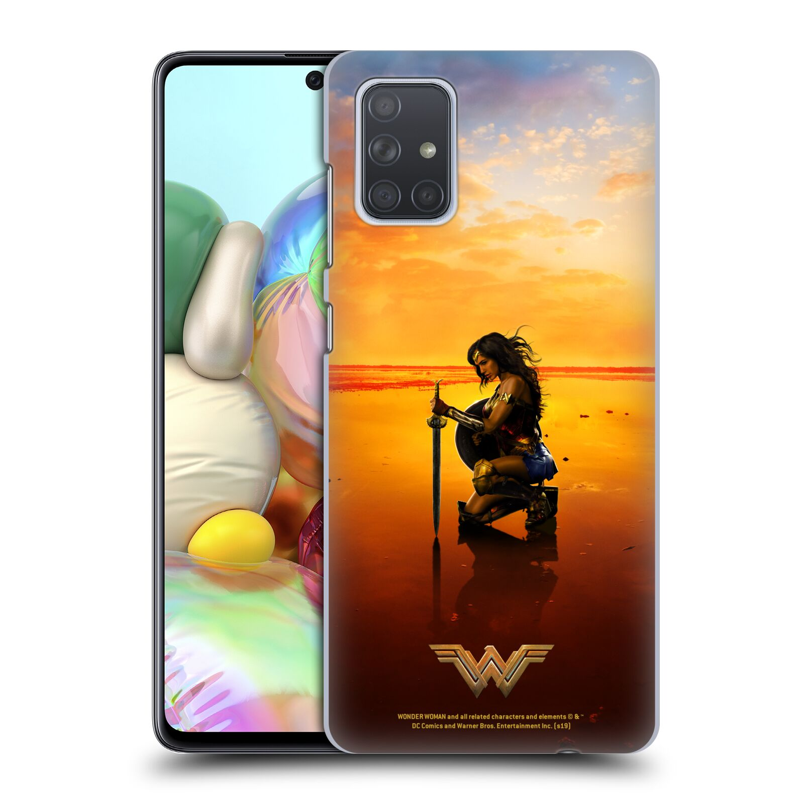 Official Wonder Woman Movie Posters Sword And Shield Case for Samsung Galaxy A71 (2019)