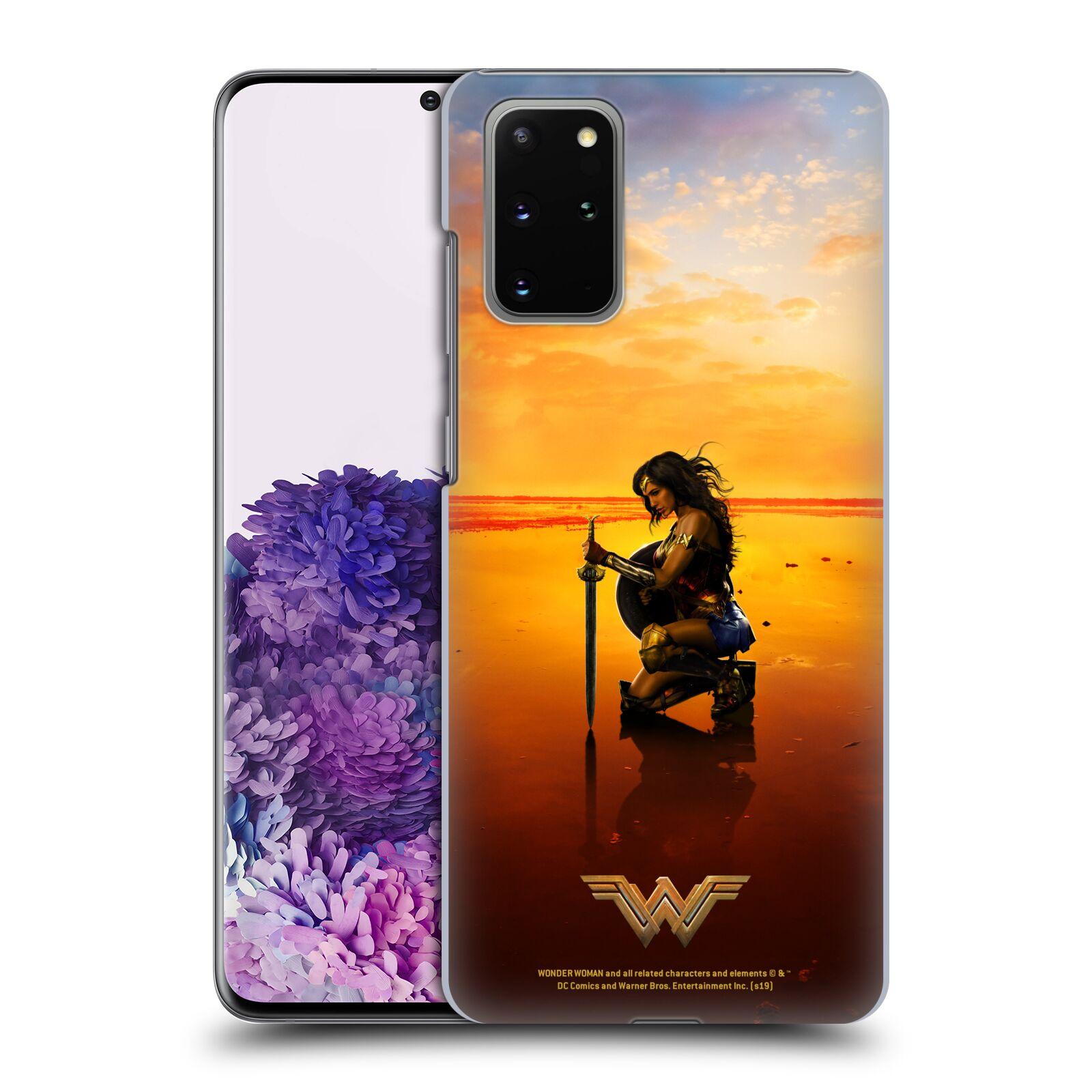 Official Wonder Woman Movie Posters Sword And Shield Case for Samsung Galaxy S20+ / S20+ 5G