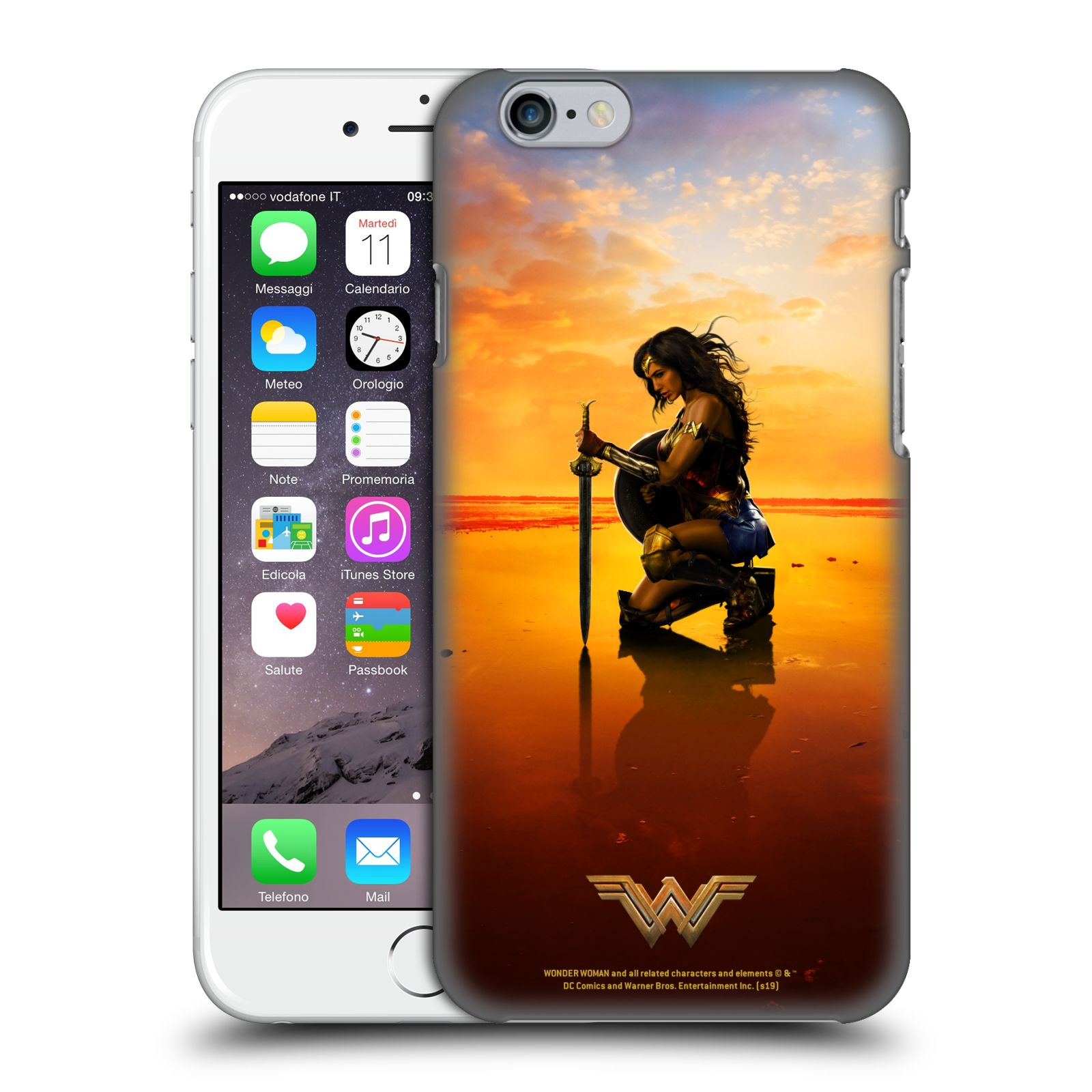 Official Wonder Woman Movie Posters Sword And Shield Case for Apple iPhone 6 / iPhone 6s