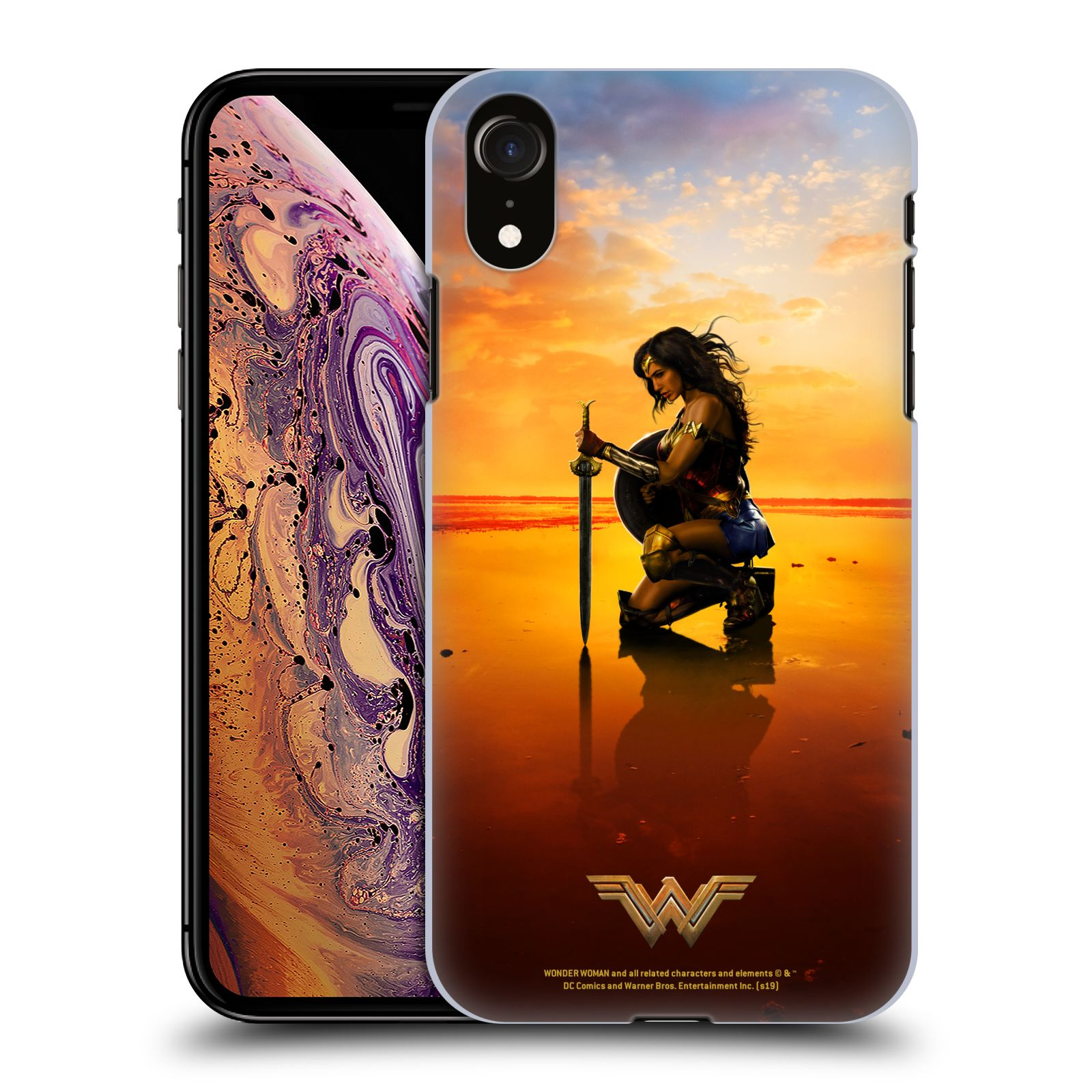 Official Wonder Woman Movie Posters Sword And Shield Case for Apple iPhone XR
