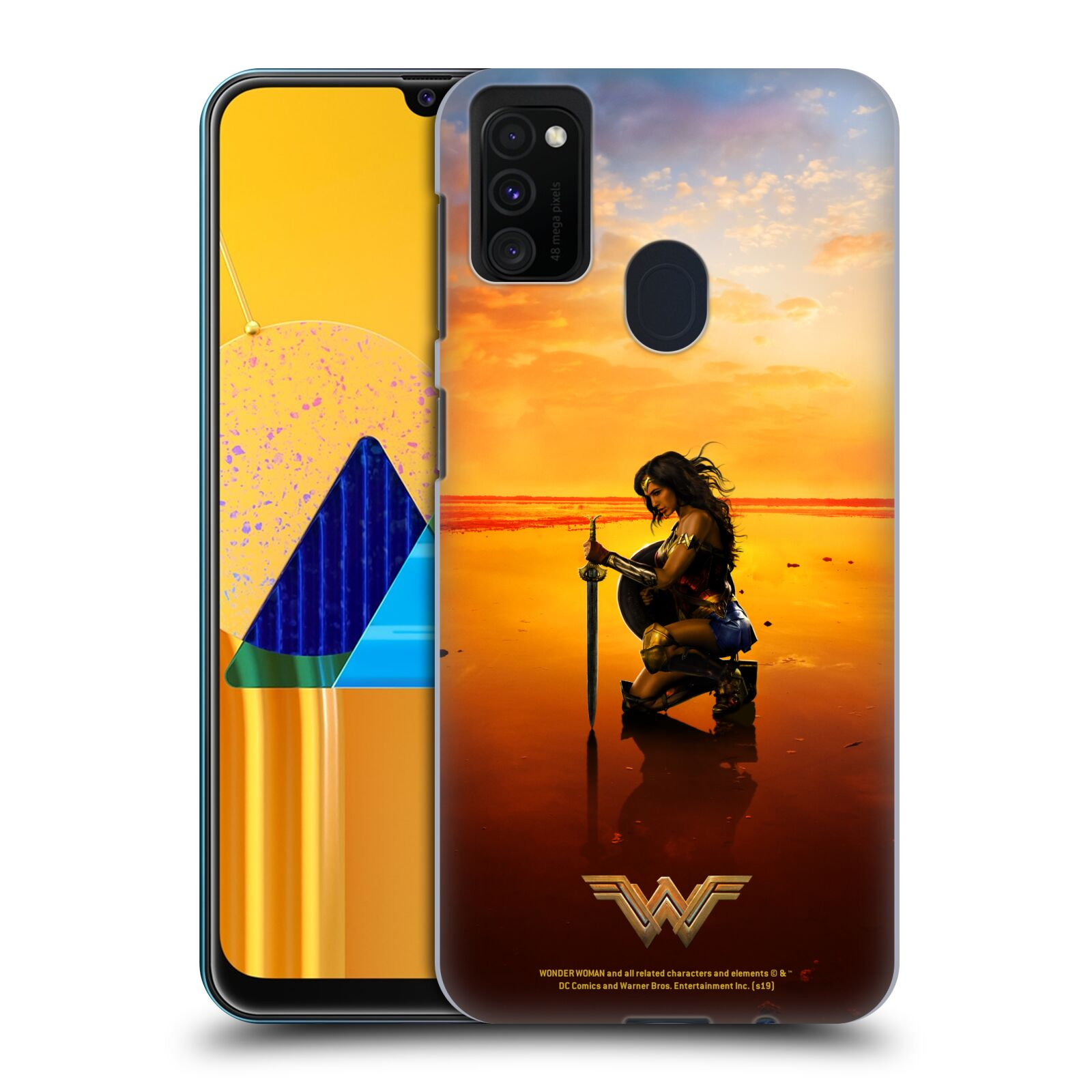 Official Wonder Woman Movie Posters Sword And Shield Case for Samsung Galaxy M30s (2019)