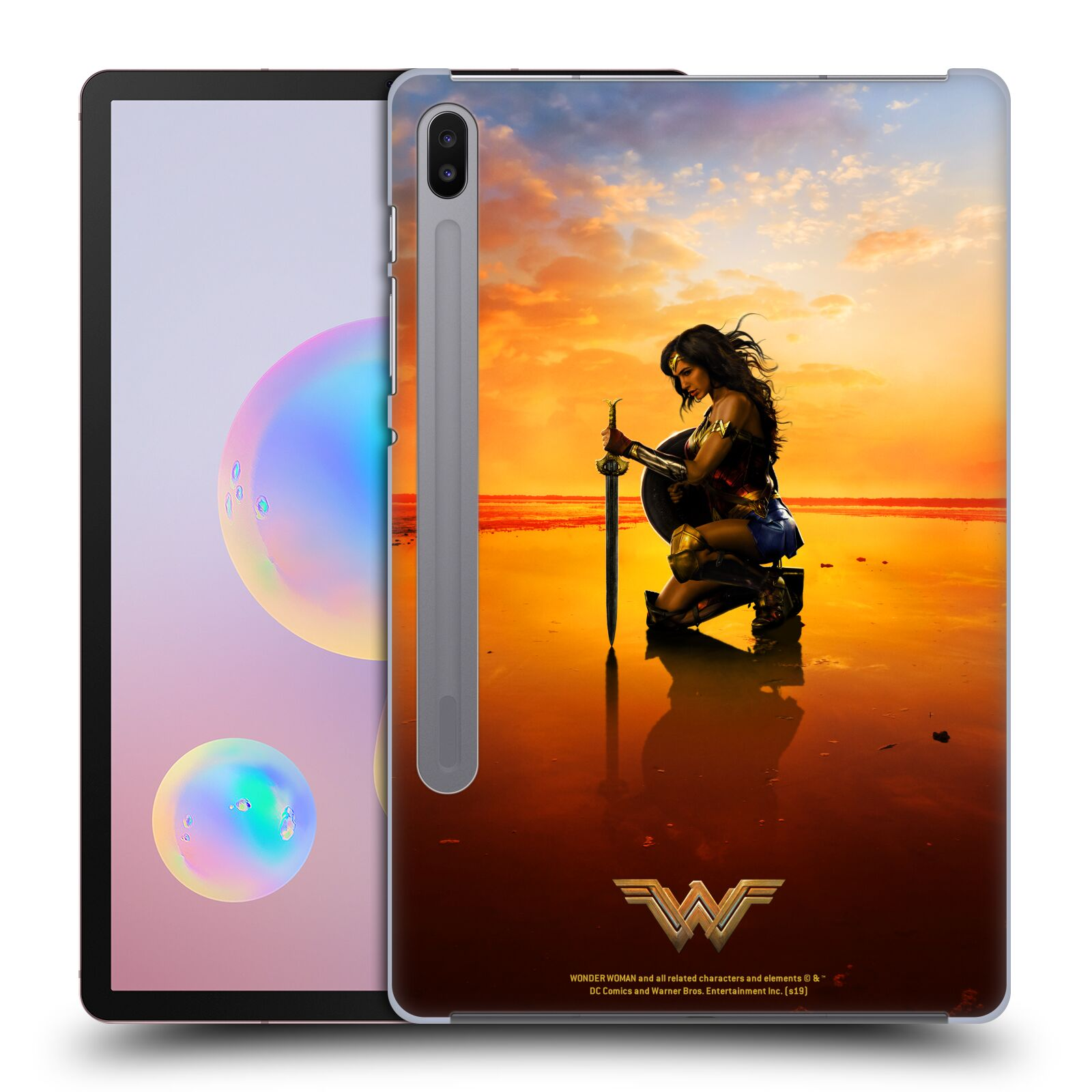 Official Wonder Woman Movie Posters Sword And Shield Case for Samsung Galaxy Tab S6 (2019)