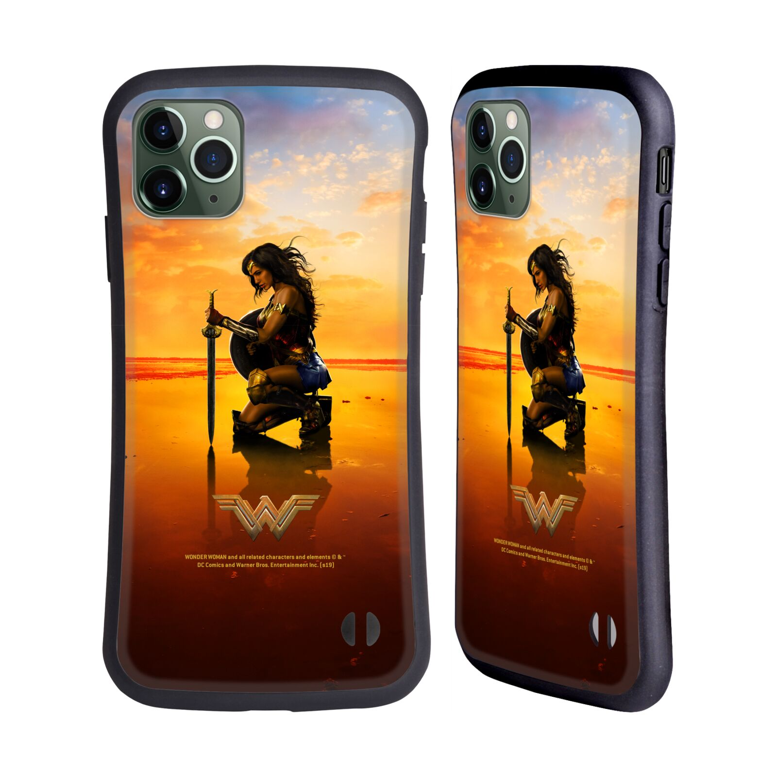 Official Wonder Woman Movie Posters Sword And Shield Hybrid Case for Apple iPhone 11 Pro Max