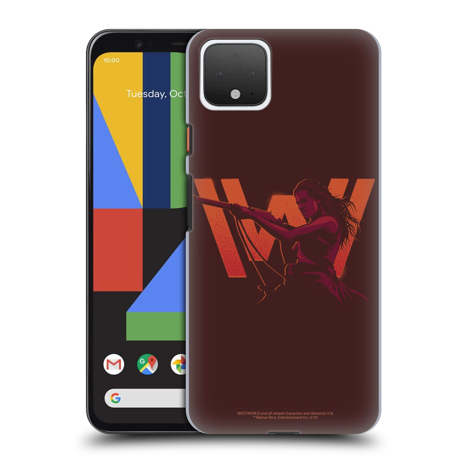 Official Westworld Logos Wyatt Case for Google Pixel 4