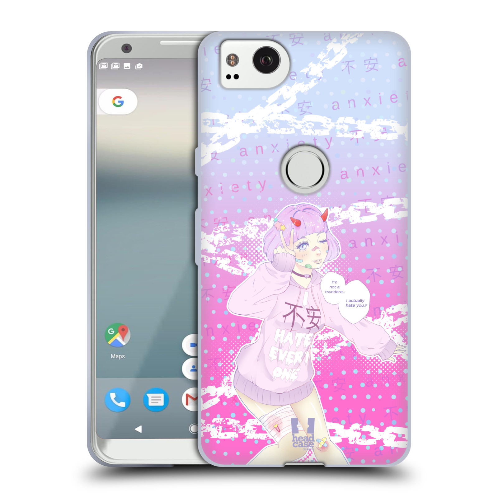 HEAD-CASE-DESIGNS-YAMI-KAWAII-SOFT-GEL-CASE-FOR-AMAZON-ASUS-ONEPLUS