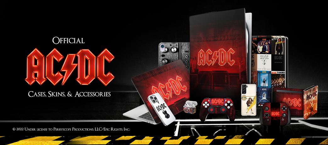AC/DC ACDC TITRES DE CHANSON ÉTUI COQUE EN CUIR POUR SAMSUNG ...