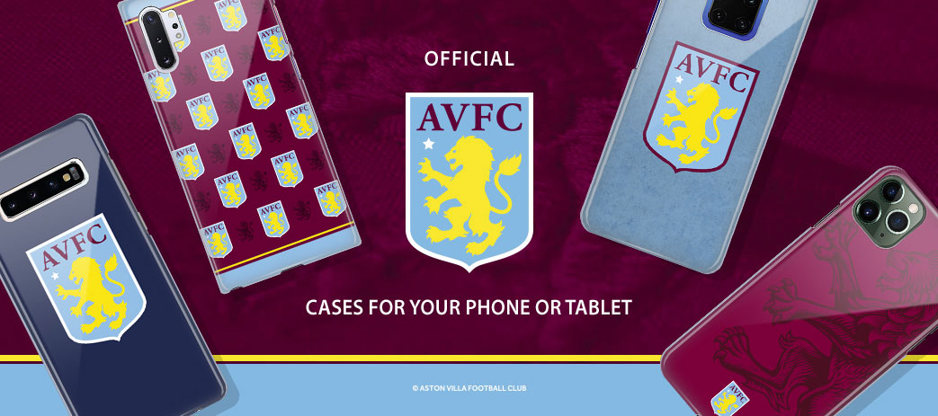 Phone Case, Tablet Case, Covers, Stickers, Skins Aston Villa Football Club