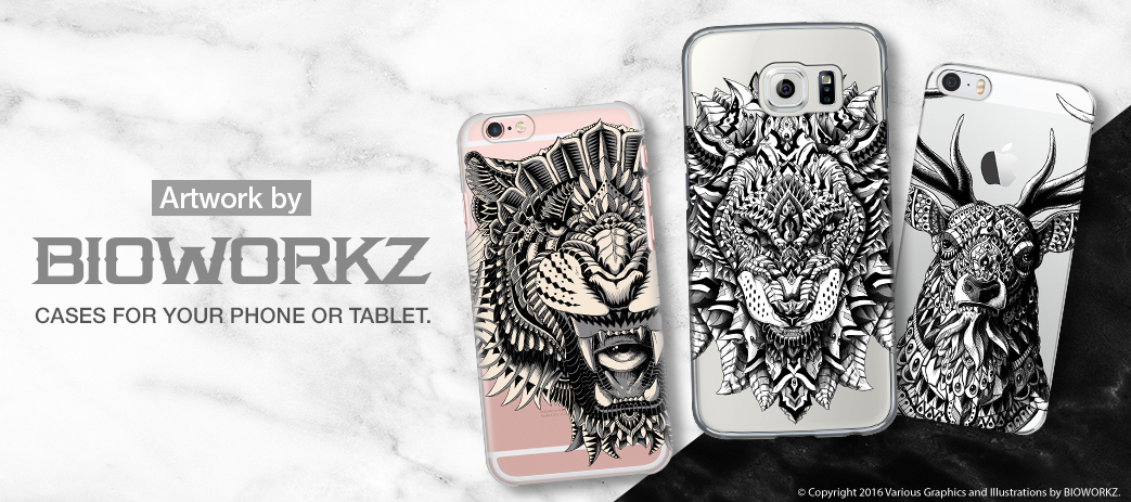 Phone Case, Tablet Case, Covers, Stickers, Skins Bioworkz