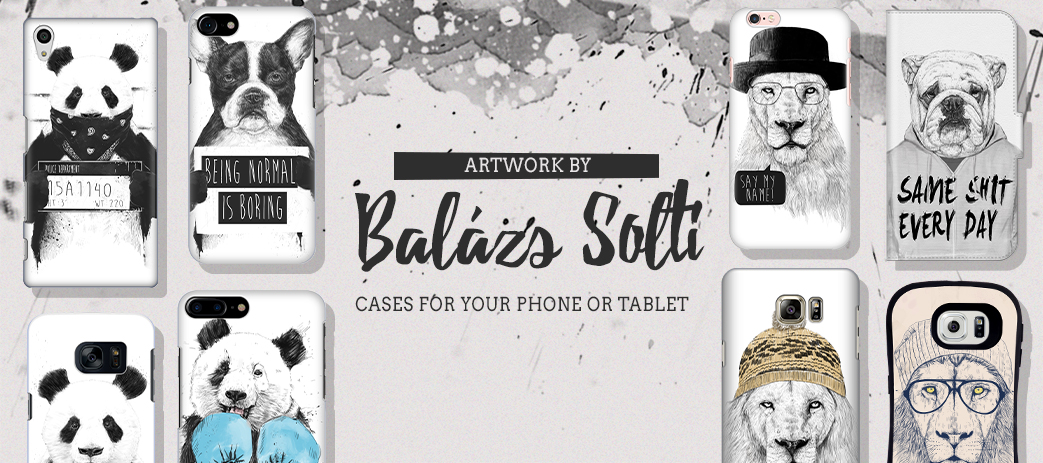 Phone Case, Tablet Case, Covers, Stickers, Skins Balázs Solti