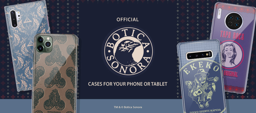 Phone Case, Tablet Case, Covers, Stickers, Skins Botica Sonora
