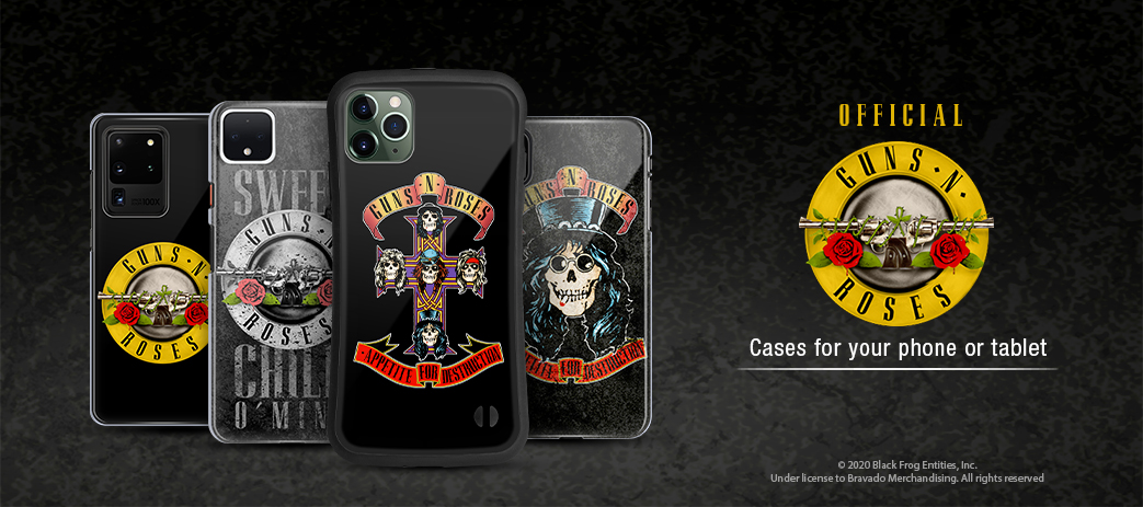 Phone Case, Tablet Case, Covers, Stickers, Skins Guns N' Roses