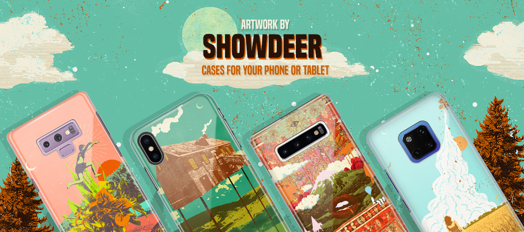 Phone Case, Tablet Case, Covers, Stickers, Skins Showdeer