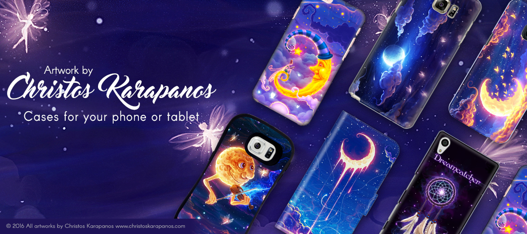 Phone Case, Tablet Case, Covers, Stickers, Skins Christos Karapanos