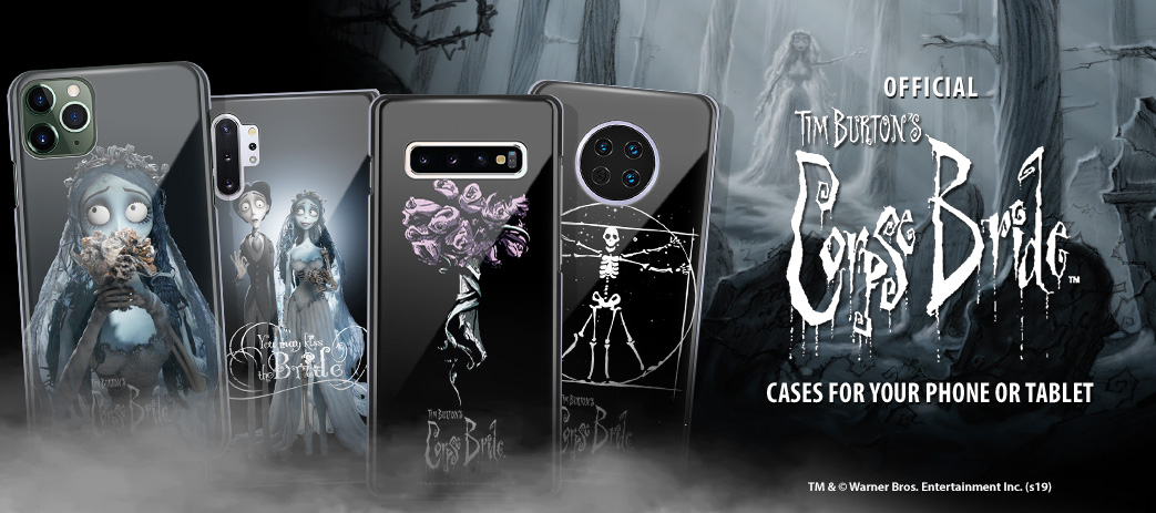 Phone Case, Tablet Case, Covers, Stickers, Skins Corpse Bride
