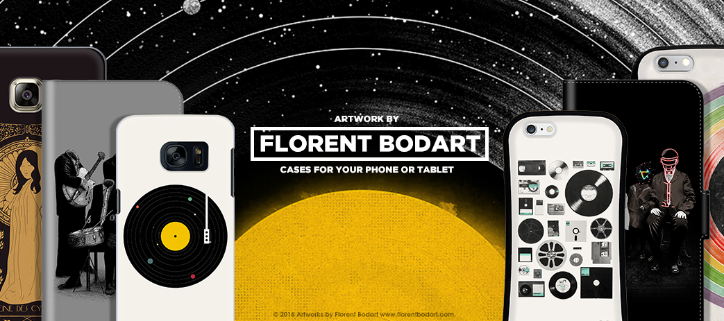 Phone Case, Tablet Case, Covers, Stickers, Skins Florent Bodart