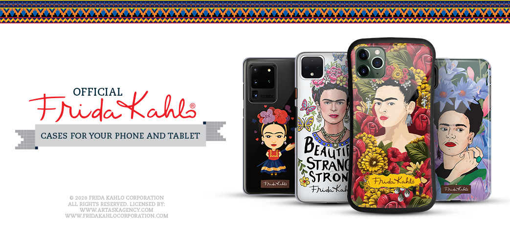 Phone Case, Tablet Case, Covers, Stickers, Skins Frida Kahlo