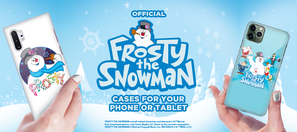 Phone Case, Tablet Case, Covers, Stickers, Skins Frosty the Snowman Movie