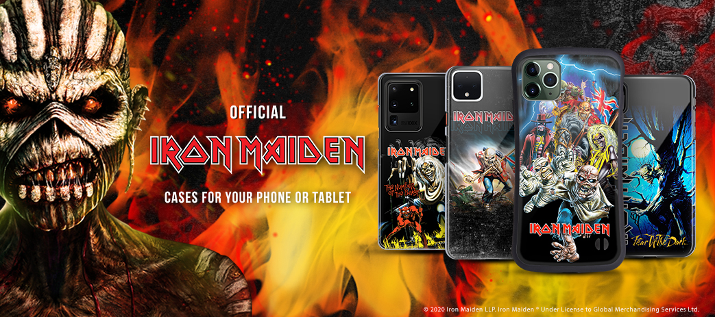 OFFICIAL IRON MAIDEN ALBUM COVERS SOFT GEL CASE FOR APPLE iPHONE ...