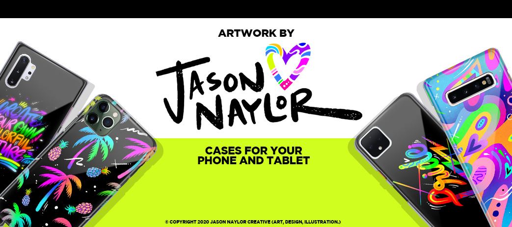Phone Case, Tablet Case, Covers, Stickers, Skins Jason Naylor
