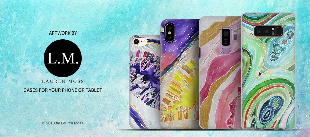 Phone Case, Tablet Case, Covers, Stickers, Skins Lauren Moss