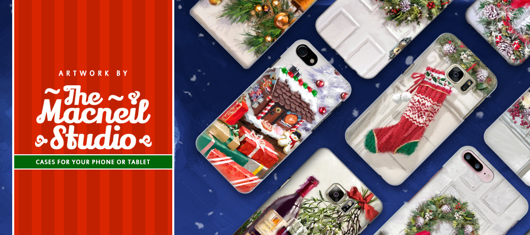 Phone Case, Tablet Case, Covers, Stickers, Skins The Macneil Studio