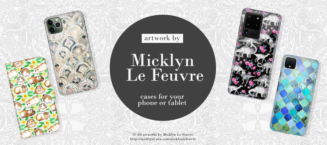 Phone Case, Tablet Case, Covers, Stickers, Skins Micklyn Le Feuvre