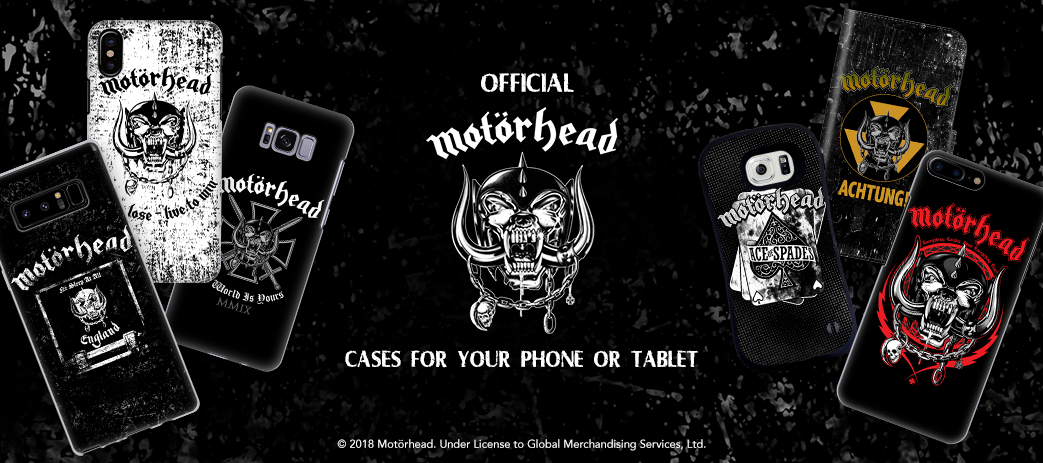 Phone Case, Tablet Case, Covers, Stickers, Skins Motorhead