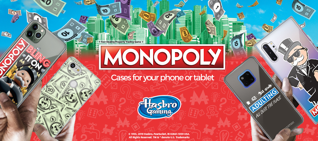 Phone Case, Tablet Case, Covers, Stickers, Skins Monopoly Game