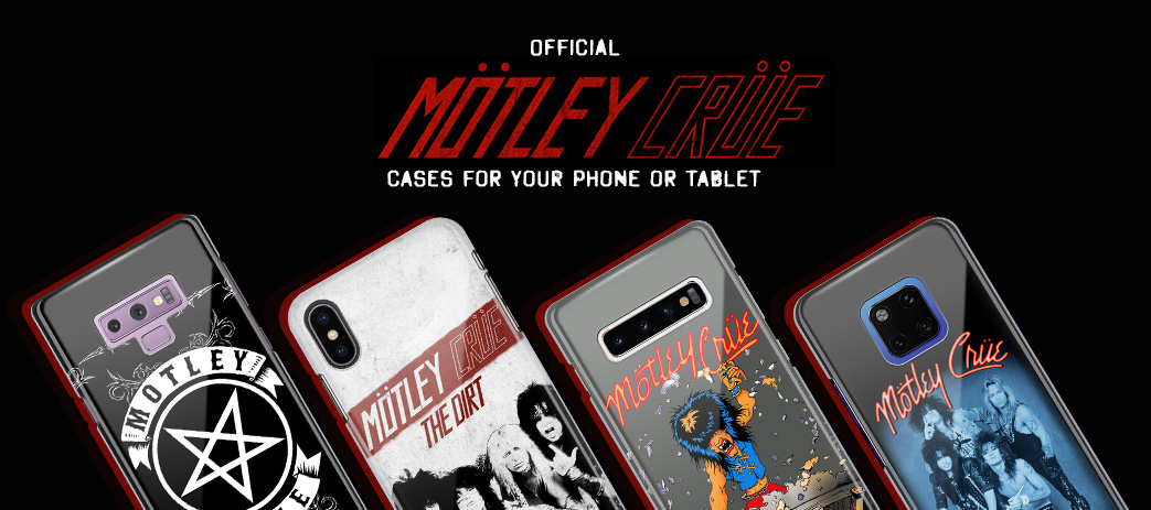Phone Case, Tablet Case, Covers, Stickers, Skins Motley Crue